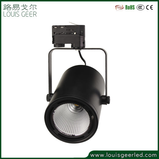 Distributor 15W 30W 40W Coffee Shop Commercial Project COB 3 Phase LED Track Light LED Lamp LED Light