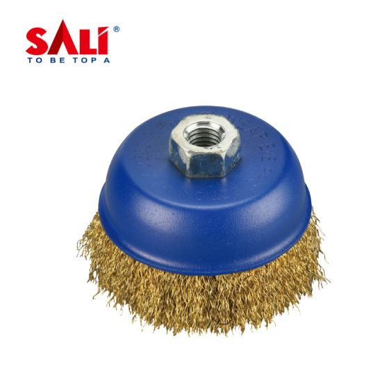 Brass Wire Brush for Removing Metal Rust