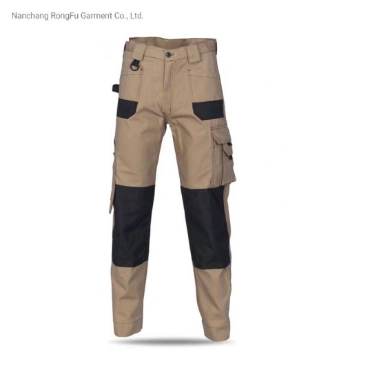 Multi Pocket Can Be Customized Color Matching Cargo Work Pants