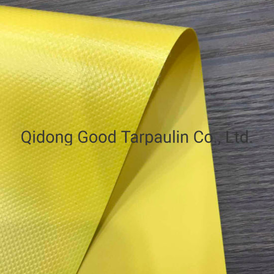 650GSM Waterproof Anti UV Polyester Fabric PVC Laminated Tarpaulin pictures & photos