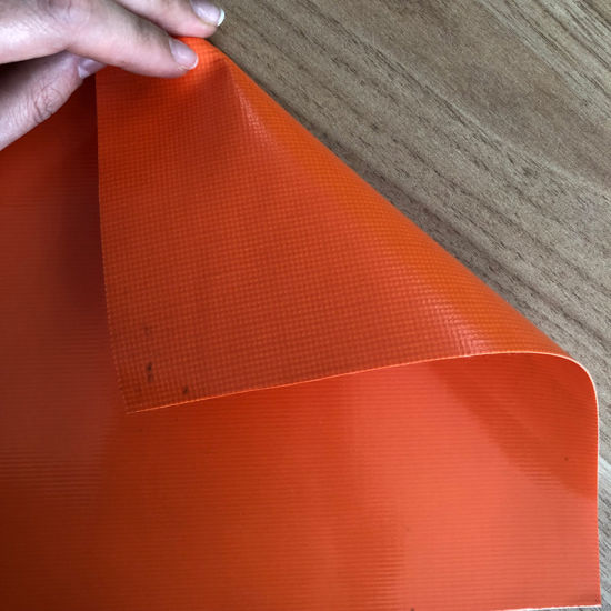 PVC Knife Coated Tarpaulin Fabric for Waterproof Bags