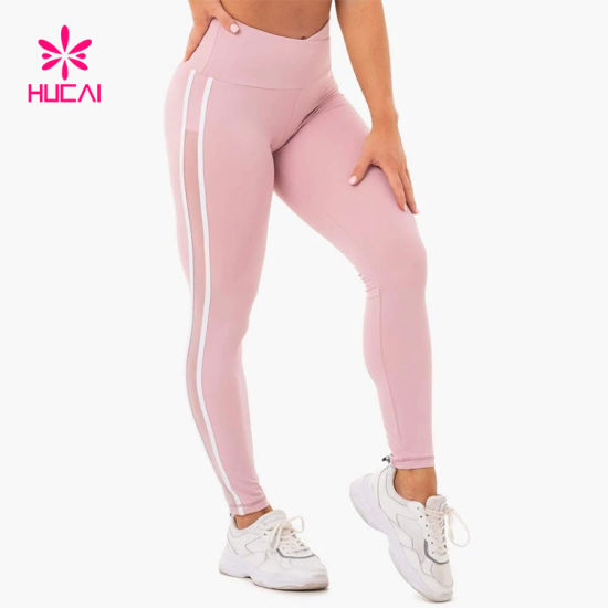 Wholesale High Waist Women Fitness Tights Lycra Yoga Pants