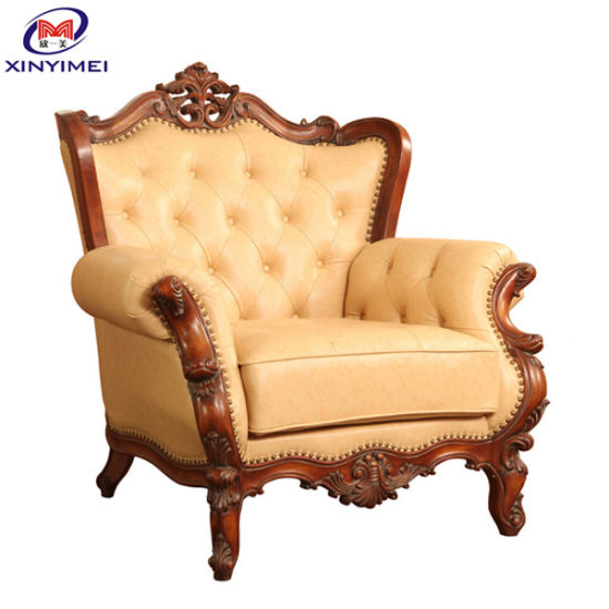 China Comfortable Furniture Hotel Room Sofa Kings Chair (XYM-H14