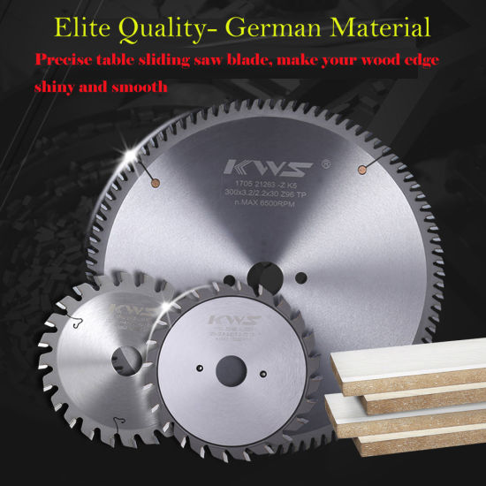 Tct Carbide Saw Blade for Wood Universal Cutting