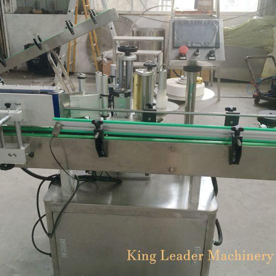 Full Automatic Glass Round Bottle Adhesive Stick Labeling Machine