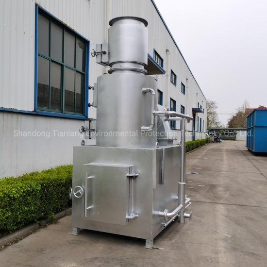 Smokeless and Odorless Waste Treatment Equipment Municipal Waste Incineration Furnace Domestic Garbage Burning Machine