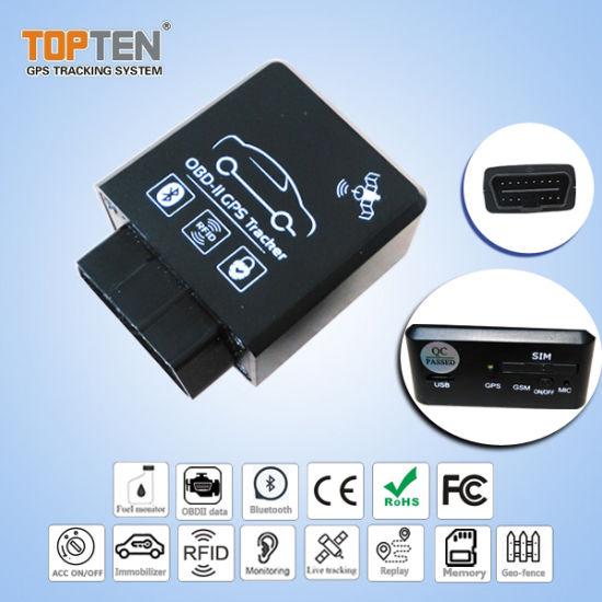 china plug n play gps obd tracker with j1939 truck protocol