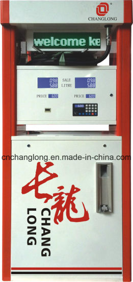 Double Nozzles Fuel Dispenser with LED Light