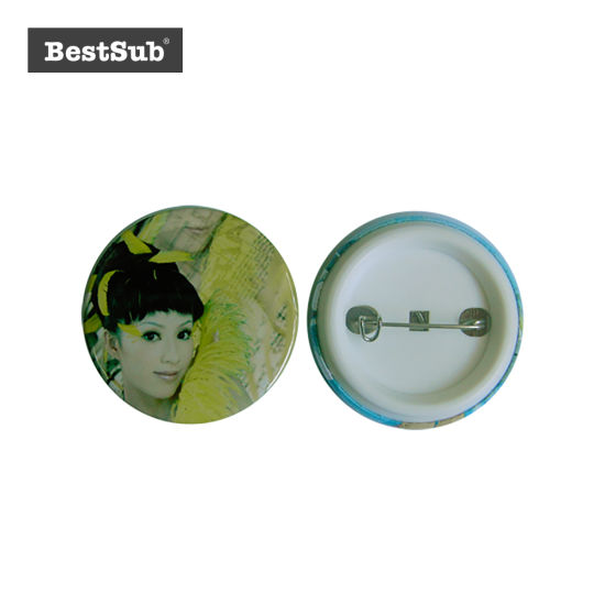 Bestsub Promotional Round Plastic Personalized Badges (XK44) pictures & photos