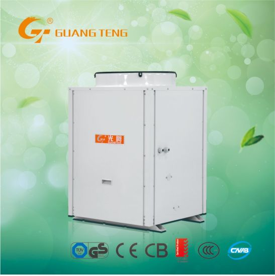 17KW Air Source Water Heater Air To Water Heat Pump For Commercial Application R407C