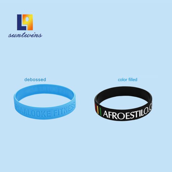 Wholesale Promotional Silk Screen Silicone Bracelet Fashion Accessories pictures & photos