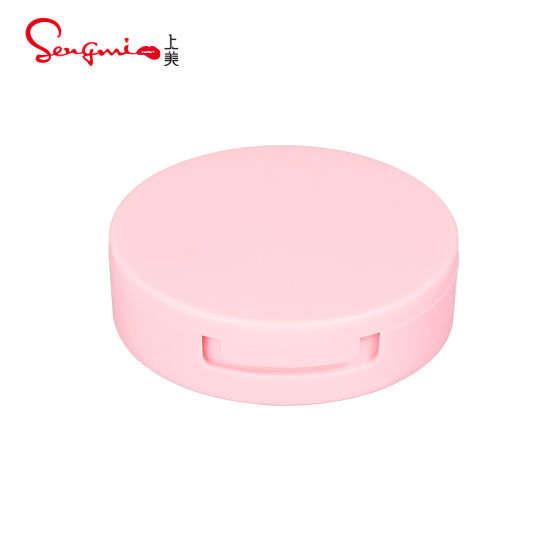 Manufacturer Face Beauty Pink Makeup Smooth Skin Face Loose Powder with Mirror for Compact Packaging