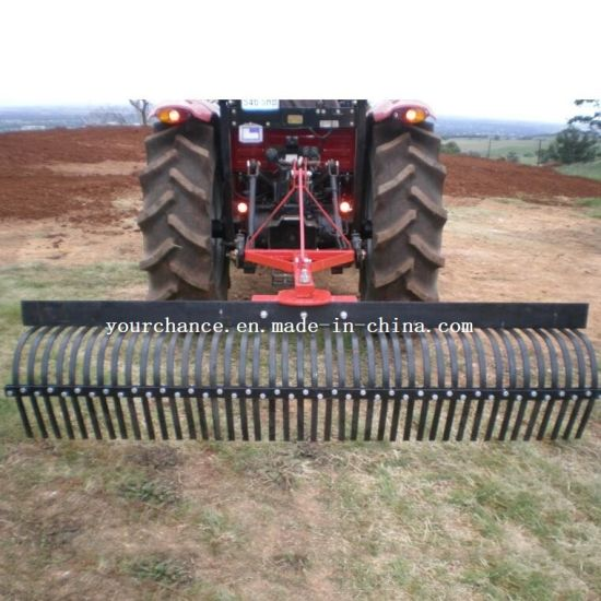 High Quality Lr-7 Tractor Mounted 2 1m Width Heavy Duty Stick Rake for Sale