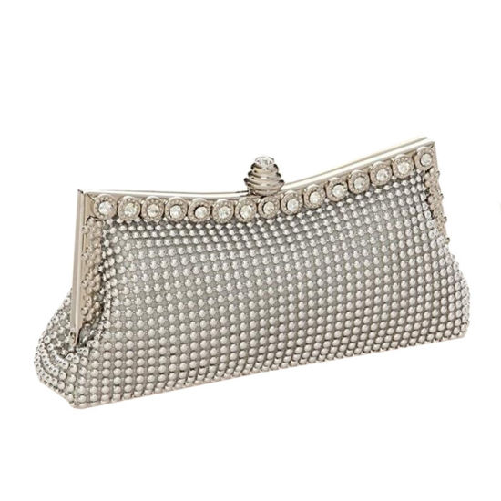 30fb7271b4 Fashion Crystal Lady Frame Purse Party Bag, Women Clutch Evening Bag  Promotion Wholesale