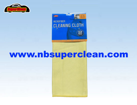 Fish Scale Shape Microfiber Cleaning Cloth (CN3618-2)