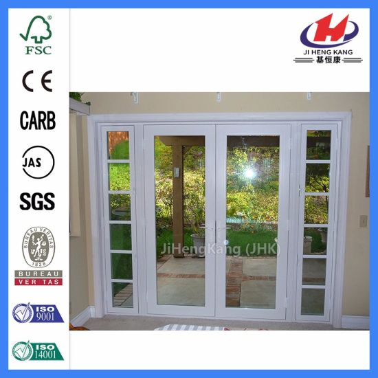 China Interior French Doors With Frosted Glass Glass For Internal