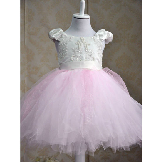 New Style Princess Lace S Flower Wedding Dress Tutu Party For Kids