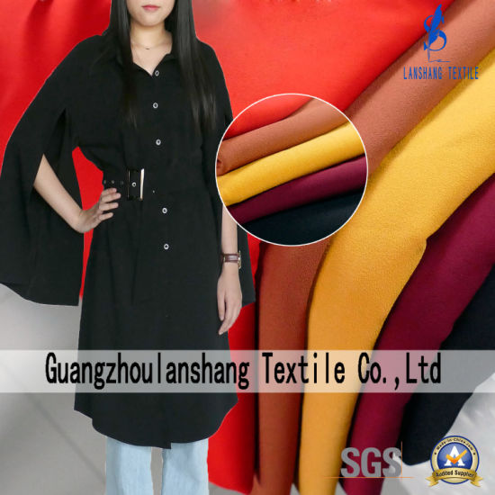 100%Polyester Habijabi Fabric for Coat Fashion Wear