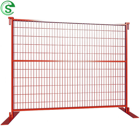 Economical 3mm Wire 50*200mm Mesh Temporary Fence