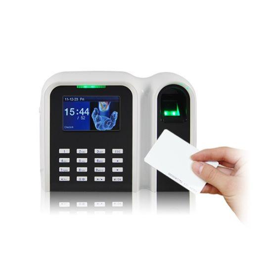 China Fingerprint Time Clock with RFID Card Reader (T9/ID) - China