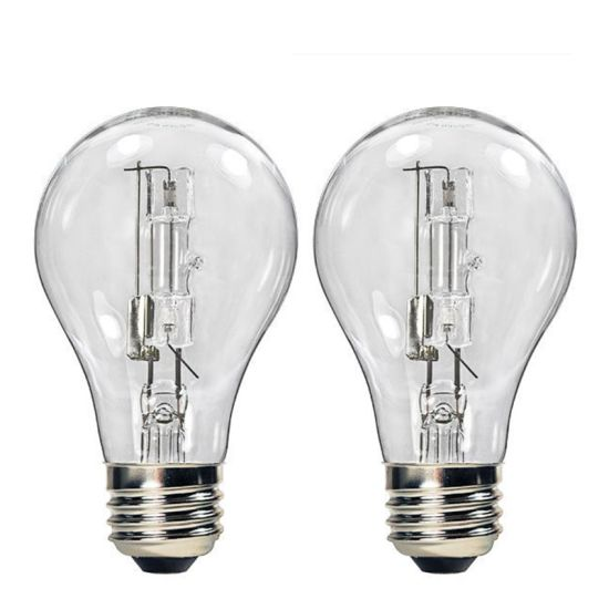 Halogen Light Bulb A19 120V 28W 42W 53W 70W Halogen Lamp