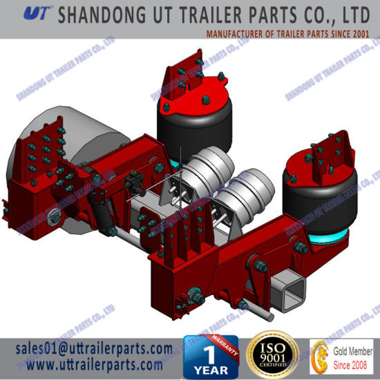 13 Tons Air Suspension for 120mm and 150mm Square Axle Beam