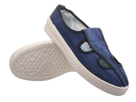 ESD Butterfly Working Shoes of Blue Colors