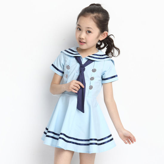 China Pinafore School Uniform Factory Kindergarten Uniforms Pinafore
