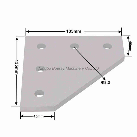 5 Hole Outside Joining Plate Bracket for 3D Printer pictures & photos
