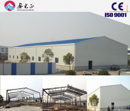 Steel Construction Building Materials/Prefab Steel Structure Warehouse, Workshop (JW-16215)