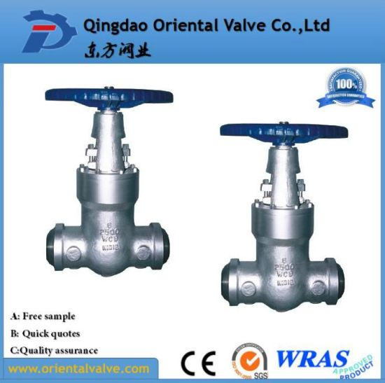 Flanged Stainless Steel Gate Valve for Oil Gas and Water Pn16 Dn100 pictures & photos