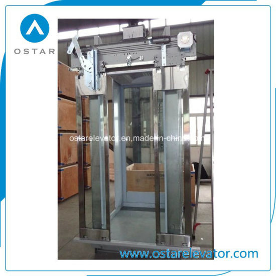 Gloden Mirror Etching Elevator Cabin for Passenger Lift (OS41) pictures & photos