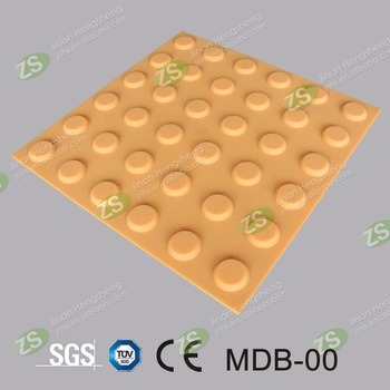Cheap Building Materials Anti-Slip Rubber Tiles Tactile