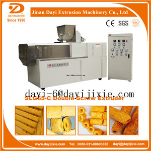 Puffed Corn Snack Twin Screw Food Extruder pictures & photos