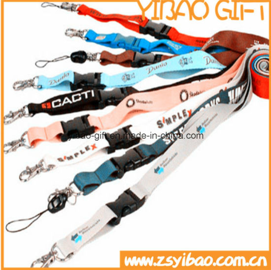 Screen Printing Lanyard with Different Accessories (YB-LY-LY-03) pictures & photos