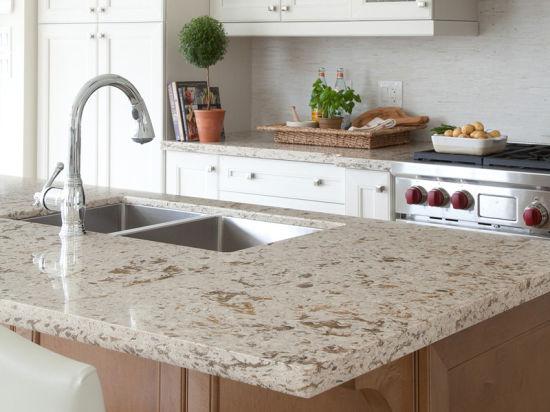 China Artificial Quartz Stone For Table Top Kitchen