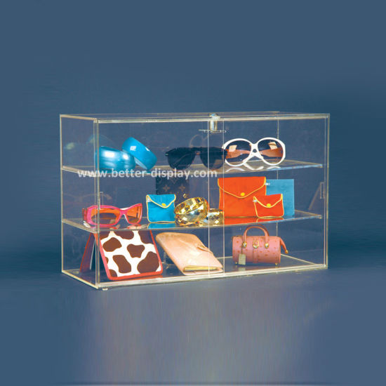 Retail Perspex Display Box Counter Display Box (BTR-A2075) pictures & photos