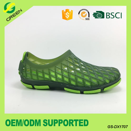 Fashion PVC Garden Shoes for Man (GS-DX1707) pictures & photos