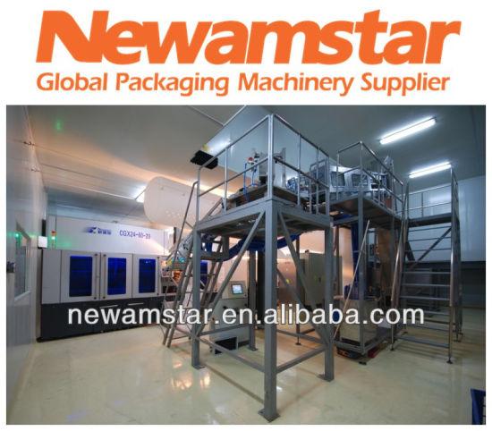 Automatic Rotary Bottle Blow Molding Machine