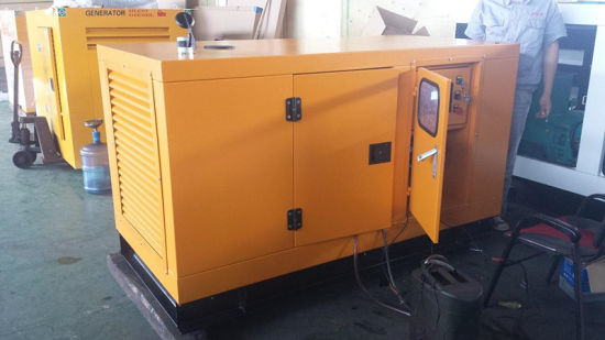 Hot Sale 100kVA Diesel Generator with Silent Canopy pictures & photos