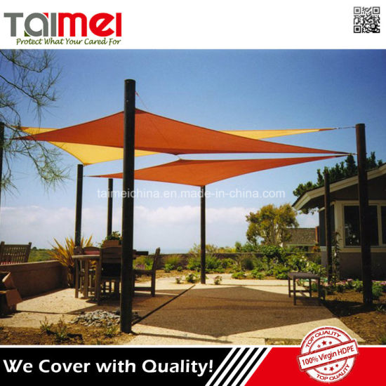 High Tensile Strength UV Block Fabric Outdoor Commercial Sun Shade Canopy Sail  sc 1 st  Qingdao Taimei Products Co. Ltd. & China High Tensile Strength UV Block Fabric Outdoor Commercial Sun ...