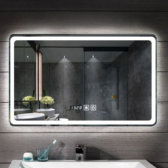 Best Ing Led Bathroom Mirror With, Bathroom Mirror With Led Lights And Bluetooth