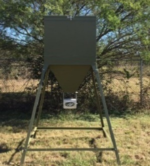 Heavy Metal Deer Feeder 200-Lbs. 450-Lbs. 600lbs