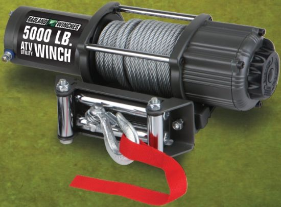 5000lbs ATV Winch with Mounting Plate Strong and Safe Expert