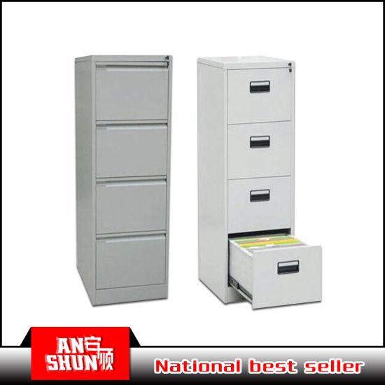Office Steel Drawer Cabinet Vertical 4 Drawer File Cabinet