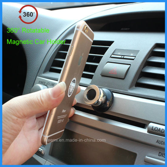 360 Degree Rotation Universal Magnetic Car Holder for Mobile Phone pictures & photos