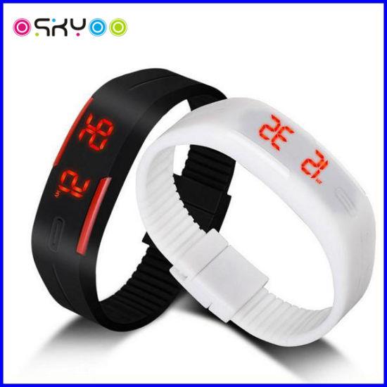 Silicone LED Digital Sports Watch