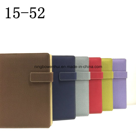 Customized PU Leather Note Book Diary/ Leather Notebook pictures & photos