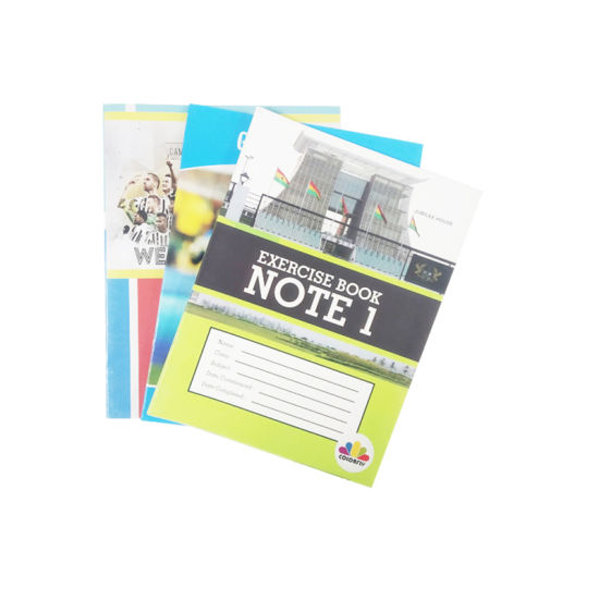 Paper From China for Ghana Line Notebooks Students Notepad Exercise Books