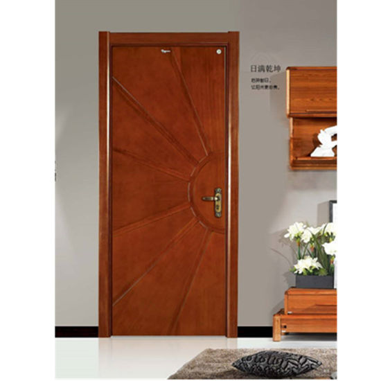 Elegant Pure Wood Door pictures & photos